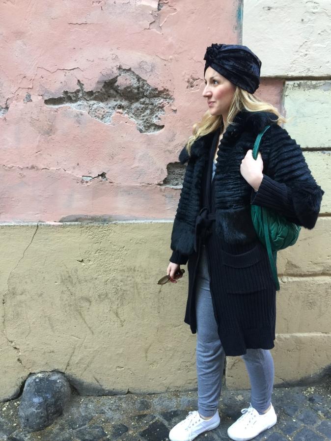 Turbante a Monti, Roma