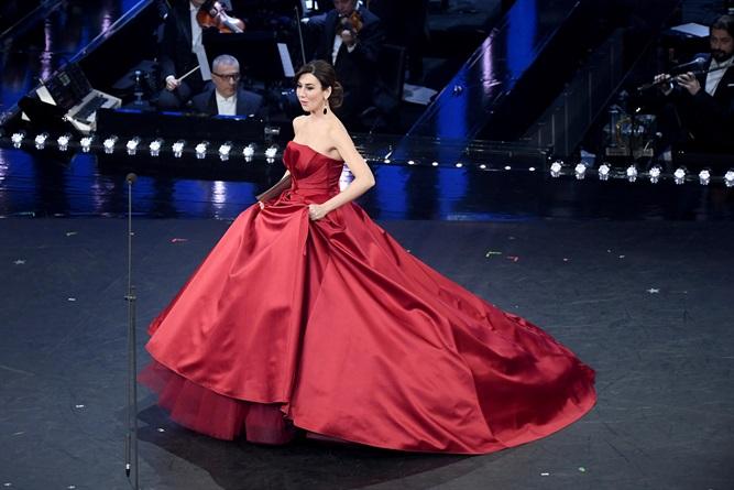 Abito Rosso Virgina Raffaele